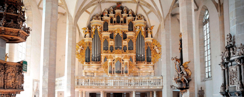 Zur Geschichte Merseburger Orgeltage